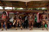 """The """"motenguene"""" is an old music and dance style, handed down by the Pygmies"""