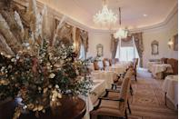 """<p>The perfect location to experience a traditional, cosy, country house Christmas, <a href=""""https://www.booking.com/hotel/gb/lucknampark.en-gb.html?aid=2070929&label=christmas-hotels"""" rel=""""nofollow noopener"""" target=""""_blank"""" data-ylk=""""slk:Lucknam Park"""" class=""""link rapid-noclick-resp"""">Lucknam Park</a> is for those in search of a relaxing Christmas without lifting a finger. From Christmas Eve to Boxing Day, highlights include champagne receptions, midnight mass at Colerne Parish Church and the arrival of Father Christmas on a horse drawn carriage on the 25th to deliver festive gifts. A traditional Christmas lunch is prepared by Michelin-starred chef, Hywel Jones and you can work off all the dining with a swim in the heated indoor-outdoor pool.</p><p><a class=""""link rapid-noclick-resp"""" href=""""https://www.booking.com/hotel/gb/lucknampark.en-gb.html?aid=2070929&label=christmas-hotels"""" rel=""""nofollow noopener"""" target=""""_blank"""" data-ylk=""""slk:CHECK AVAILABILITY"""">CHECK AVAILABILITY</a></p>"""