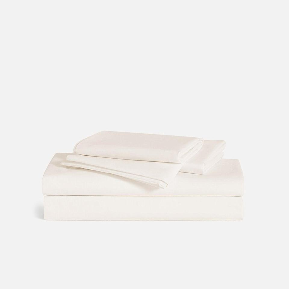 """<h2>20% Off Brooklinen Luxe Hardcore Sheet Bundle</h2><br>Both <a href=""""https://www.refinery29.com/en-us/best-cooling-sheets-reviews"""" rel=""""nofollow noopener"""" target=""""_blank"""" data-ylk=""""slk:breathable sheets"""" class=""""link rapid-noclick-resp"""">breathable sheets</a> and <a href=""""https://www.refinery29.com/en-us/2021/04/10446095/brooklinen-birthday-sale"""" rel=""""nofollow noopener"""" target=""""_blank"""" data-ylk=""""slk:sitewide sales at popular bedding brands"""" class=""""link rapid-noclick-resp"""">sitewide sales at popular bedding brands</a> were percolating in April's top-shopped basket — which both served to place Brooklinen and its cool-crisp Hardcore bundle in the most wanted hall of fame. One cool-sleeper attests that the bestselling sheets are, """"cooler and crisper than those I am used to, which I love.""""<br><br>Shop <strong>20% off</strong> <a href=""""https://www.brooklinen.com/"""" rel=""""nofollow noopener"""" target=""""_blank"""" data-ylk=""""slk:Brooklinen's sitewide Birthday sale"""" class=""""link rapid-noclick-resp"""">Brooklinen's sitewide Birthday sale</a> using code <strong>BDAY</strong> at checkout.<br><br><em>Shop <strong><a href=""""https://www.brooklinen.com/products/luxe-hardcore-sheet-bundle"""" rel=""""nofollow noopener"""" target=""""_blank"""" data-ylk=""""slk:Brooklinen"""" class=""""link rapid-noclick-resp"""">Brooklinen</a></strong></em><br><br><strong>Brooklinen</strong> Luxe Hardcore Sheet Bundle, $, available at <a href=""""https://go.skimresources.com/?id=30283X879131&url=https%3A%2F%2Fwww.brooklinen.com%2Fproducts%2Fluxe-hardcore-sheet-bundle"""" rel=""""nofollow noopener"""" target=""""_blank"""" data-ylk=""""slk:Brooklinen"""" class=""""link rapid-noclick-resp"""">Brooklinen</a>"""