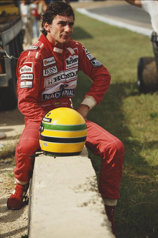 <p>Cause of death: Senna was killed in an accident during the 1994 San Marino Grand Prix. </p>