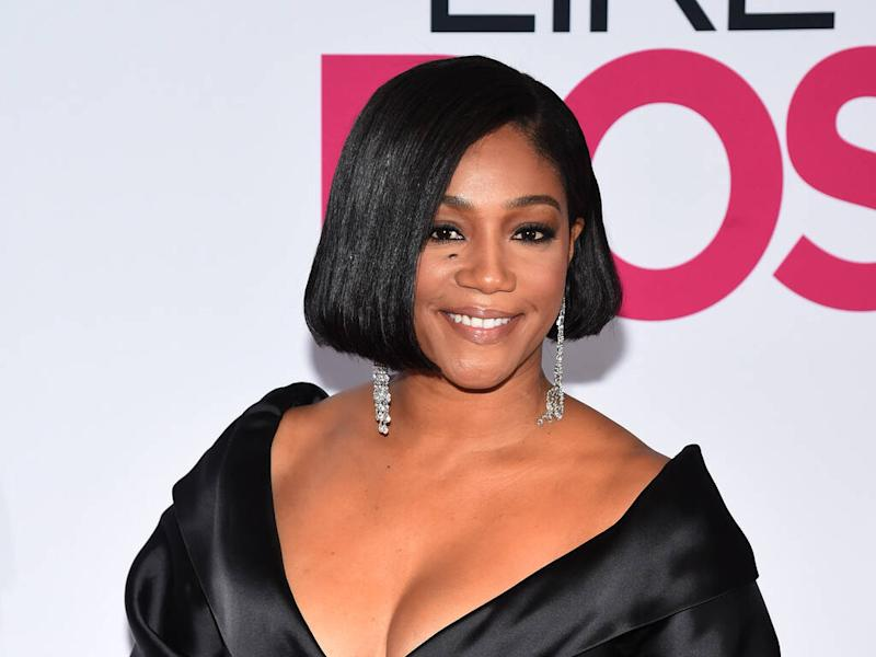 Tiffany Haddish never had acne until she started making movies