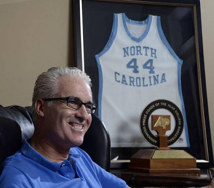 Former UNC basketball coach Matt Doherty now lives in Mooresville. He and his wife, Kelly, have two children.