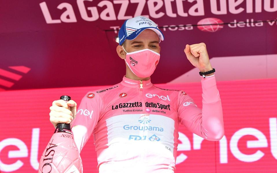 Attila Valter –Giro d'Italia 2021: Attila Valter becomes first Hungarian to hold leader's pink jersey - REUTERS