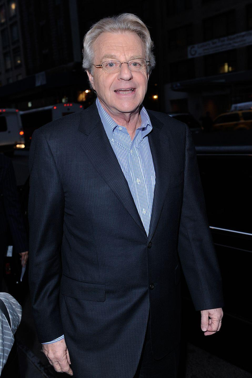 <p>It may come as a surprise that controversial daytime talk show host, Jerry Springer, had a background in politics long before he started mediating domestic disputes. In 1970, Springer ran for Congress, and although things didn't go his way the first time around, he was the mayor of Cincinnati, Ohio from 1971 to 1981. </p>