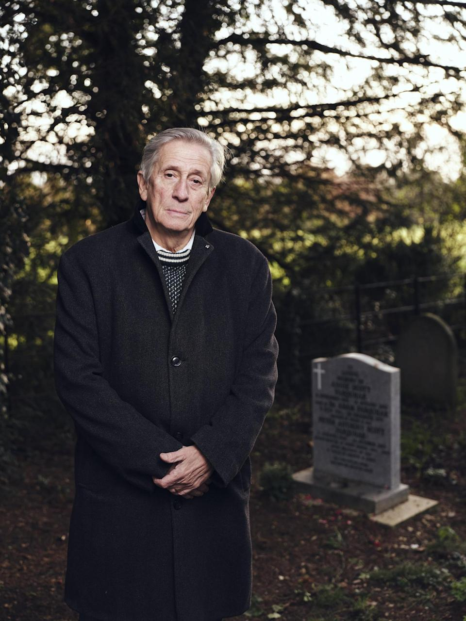 Ian Farquhar, brother of murder victim Peter Farquhar (Channel 4)