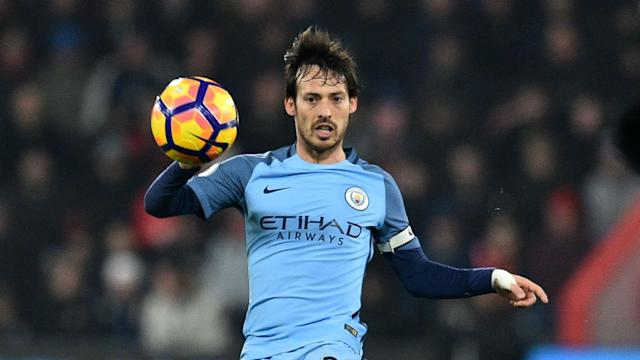 Yaya Toure is in awe of David Silva and believes his Manchester City team-mate is on a par with Barcelona legends Xavi and Andres Iniesta.