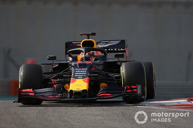 "Max Verstappen, Red Bull Racing RB15 <span class=""copyright"">Jerry Andre / Motorsport Images</span>"