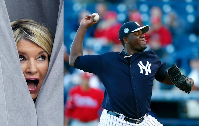 Martha Stewart and Baseball's Greatest Superstition, the Perfect Game Jinx