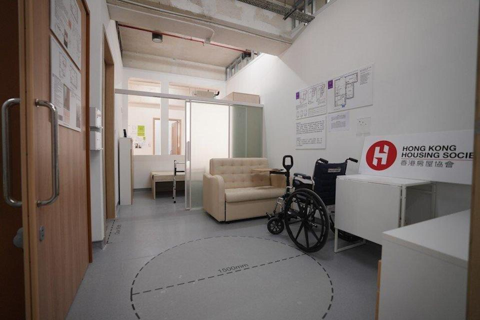 A prototype home designed to improve accessibility for ageing residents. Photo: Winson Wong