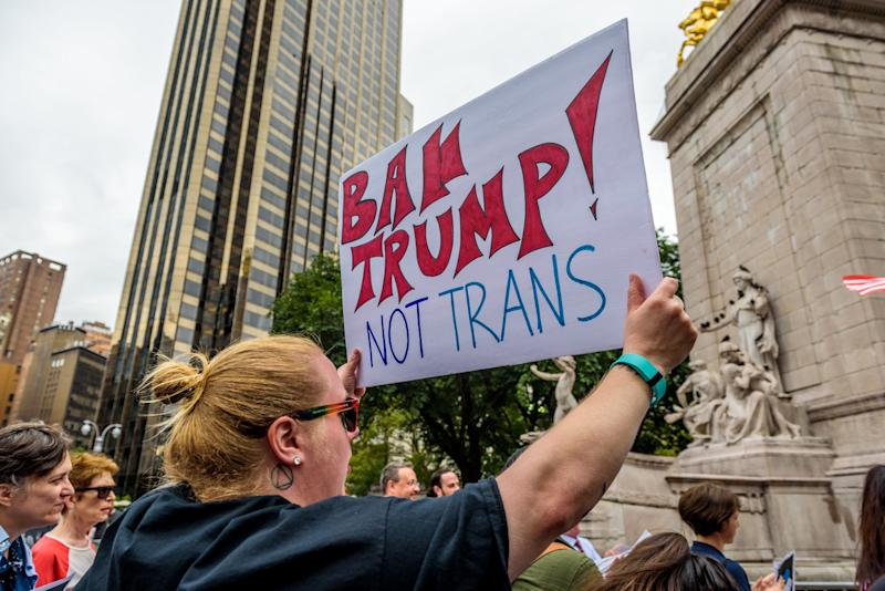 Trump Administration's Transgender Military Ban Goes into Effect