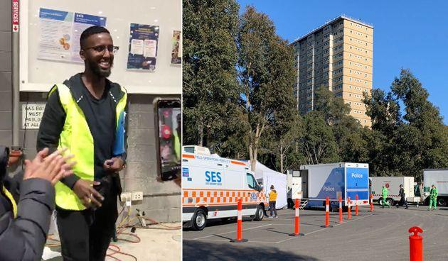 Eight of the nine residential towers under lockdown orders will now move to the same restrictions as the rest of Melbourne.