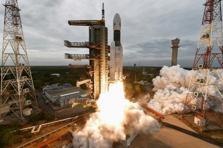 India's Chandrayaan-2 mission, which blasted off in July 2019, cost just $140 million (AFP Photo/Handout)