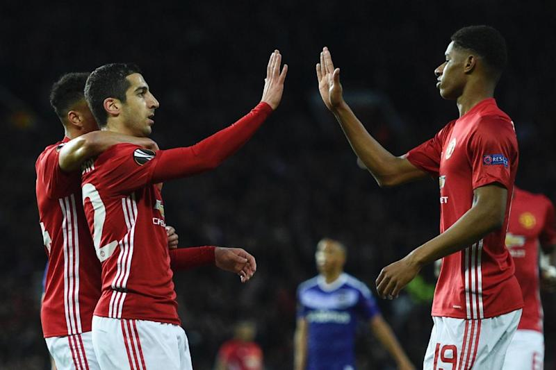 Opener | Henrikh Mkhitaryan netted in the 10th minute