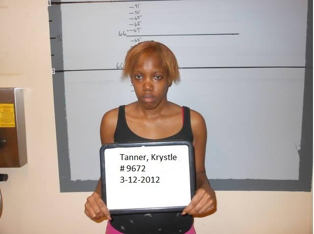 This March 12, 2012 booking photo provided by the San Augustine Sherrif's Office shows Krystle Rochelle Tanner. Tanner, 26, was arrested Monday on a kidnapping charge in the late 2004 abduction of Miguel Morin, and she was being held in jail in San Augustine, a community about 140 miles northeast of Houston. (AP Photo/San Augustine Sheriff's Office)
