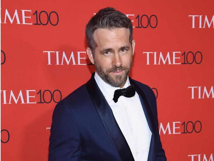 Ryan Reynolds is also a spokesperson for the Aviation Gin company.