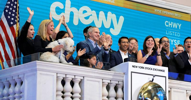 Here are the biggest analyst calls of the day: Chewy, 3M