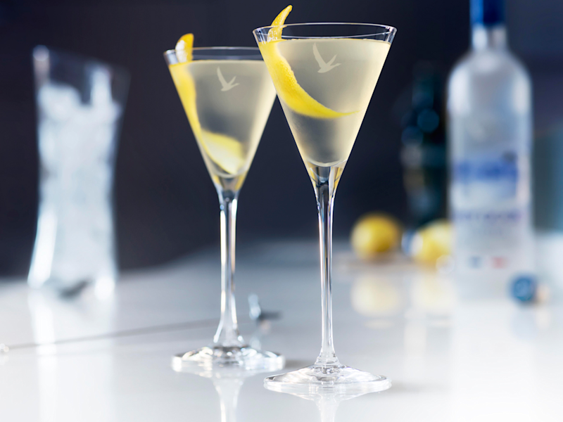 Grey goose summer martini