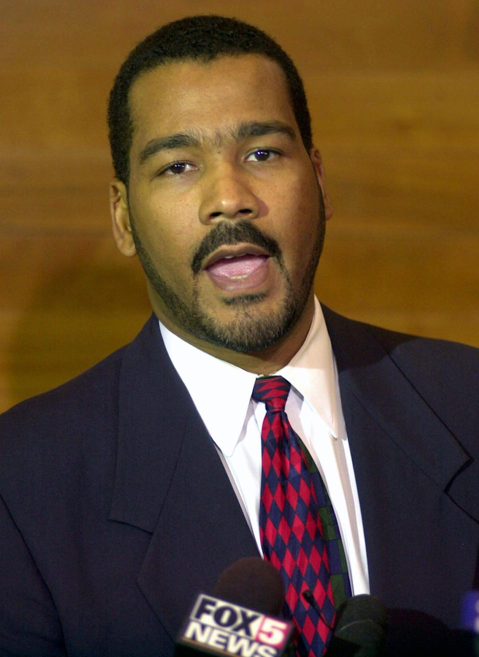 <p>In 2002, King's own son, Dexter Scott King, stepped into his father's shoes for <em>The Rosa Parks </em>story. </p> <p>He portrayed him again in in the 1999 educational film <em>Our Friend, Martin, </em>voicing his father at 34 years old. The film was nominated for an Emmy award in 1999 for outstanding animated program. </p>