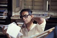 Widely recognised as one of the greatest filmmakers of all time, Satyajit Ray was also a screenwriter, music composer, graphic artist, lyricist and author. Ray has directed 36 films, but his Pather Panchali trilogy is considered the most memorable and iconic.