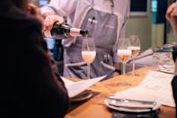 """<p><strong>Give us an overview of this place.</strong><br> Paco Meralgo is a play on words: Said quickly, it becomes """"pa' comer algo,"""" which means """"to eat something""""—perfect, since that's just what we're here to do. This sophisticated-looking tapas bar has high stools lined up along the bar and a comfortable dining area at the back. Unlike most traditional tapas bars, the space has a modern feel, and even the lighting is pretty decent. The dining room is a good choice for a romantic dinner, but sitting at the bar is way more fun.</p> <p><strong>What's the crowd like?</strong><br> Paco Meralgo is a magnet for those serious about eating excellently.</p> <p><strong>What should we be drinking?</strong><br> Tapas go best with beer or wine, and Paco Meralgo does great pours of both, priced from just $5.</p> <p><strong>Main event: the food. Give us the lowdown—especially what not to miss.</strong><br> Though <a href=""""https://www.cntraveler.com/gallery/best-tapas-bars-in-barcelona?mbid=synd_yahoo_rss"""" rel=""""nofollow noopener"""" target=""""_blank"""" data-ylk=""""slk:there are a ton of tapas joints in Barcelona"""" class=""""link rapid-noclick-resp"""">there are a ton of tapas joints in Barcelona</a>, sadly, only a few ever get serious about sourcing top-quality, seasonal produce. Paco Meralgo is one of them. The menu may look similar to what you see elsewhere, but the quality is much better. For a selection of classic tapas, you can't go wrong with patatas bravas (fried potatoes with spicy sauce and garlic aioli), tuna salad with tomato and onion, or the """"Obama"""" cuttlefish croquettes.</p> <p><strong>And how did the front-of-house folks treat you?</strong><br> There's efficient, knowledgeable service (especially at the bar, which has a livelier feel than the dining room).</p> <p><strong>What's the real-real on why we're coming here?</strong><br> You come here when only the highest-quality tapas will do.</p>"""