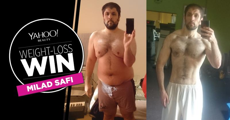 This 24-year-old man dropped 100 pounds the healthy way after becoming  'addicted to losing weight'