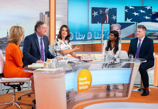 The 'Good Morning Britain' debate around anti-Trump protests