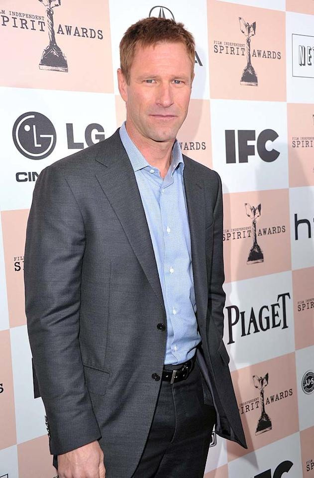 """March 12: Aaron Eckhart turns 43 Alberto E. Rodriguez/<a href=""""http://www.gettyimages.com/"""" target=""""new"""">GettyImages.com</a> - February 26, 2011"""