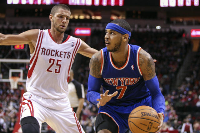 Details of Houston Rockets' free agent pitch to Carmelo Anthony emerge