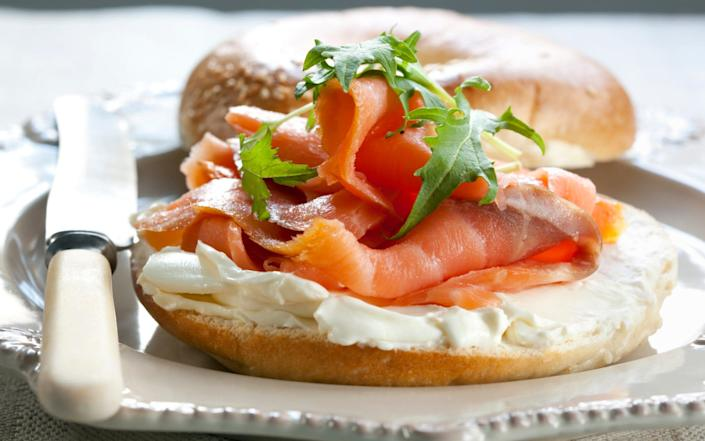 Smoked Salmon Bagel - Getty Images