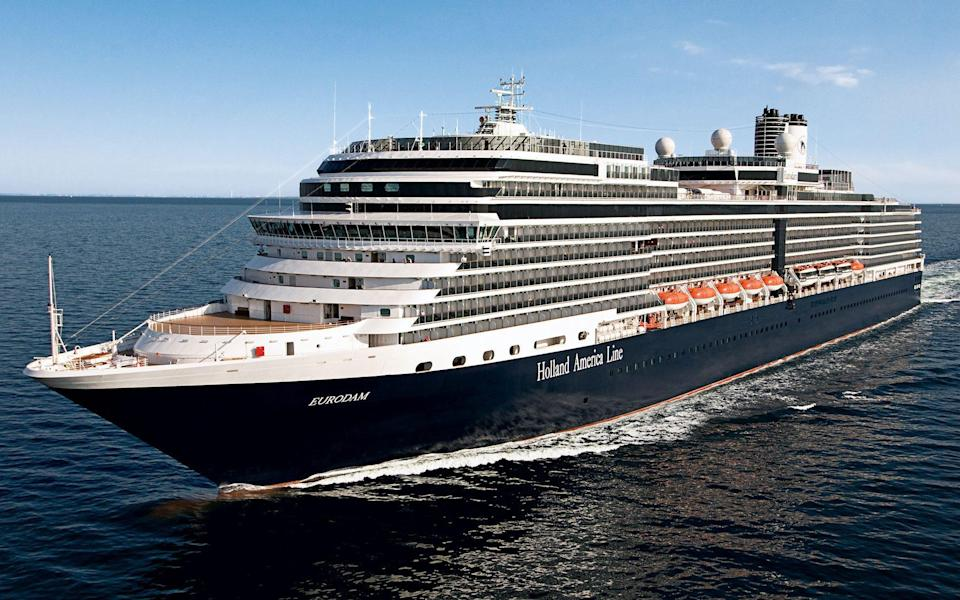 Eurodam will be welcoming passengers once again from August - Holland America Line
