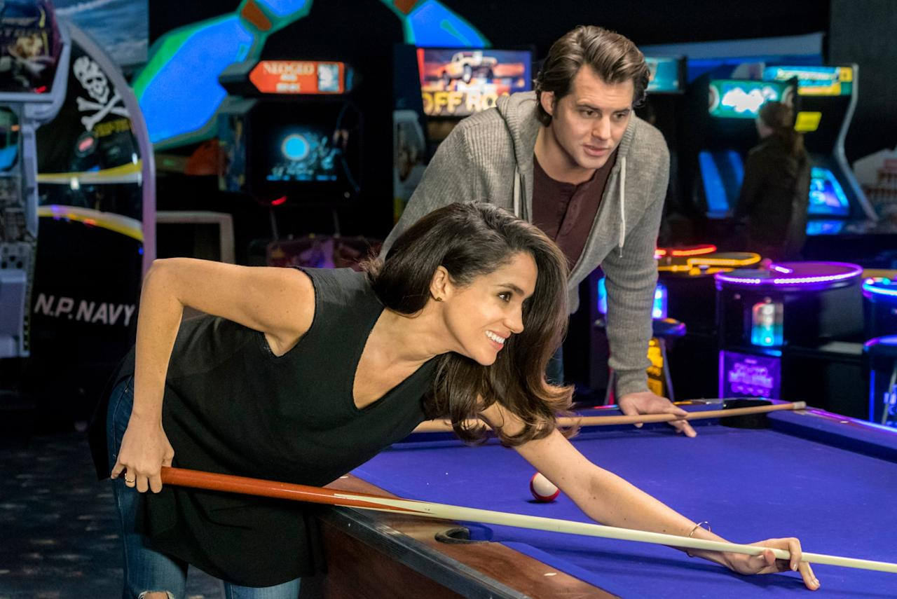 """<ul> <li><strong>When Sparks Fly: </strong>The former actress shot this Hallmark romantic-comedy before she became the Duchess of Sussex, and it's just a really cute movie. It's available for purchase on <a rel=""""nofollow"""" href=""""http://www.youtube.com/watch?v=nzIxzksyBfo"""">YouTube</a>, <a rel=""""nofollow"""" href=""""https://www.popsugar.com/buy?url=https%3A%2F%2Fwww.amazon.com%2Fgp%2Fvideo%2Fdetail%2FB01GF0QS9K%2Fref%3Datv_dl_rdr&p_name=Amazon%20Prime&retailer=amazon.com&evar1=buzz%3Aus&evar9=45910250&evar98=https%3A%2F%2Fwww.popsugar.com%2Fentertainment%2Fphoto-gallery%2F45910250%2Fimage%2F45910296%2FWhen-Sparks-Fly-former-actress-shot-Hallmark&list1=meghan%20markle&prop13=mobile&pdata=1"""" rel=""""nofollow"""">Amazon Prime</a>, <a rel=""""nofollow"""" href=""""http://play.google.com/store/movies/details?id=nzIxzksyBfo"""">Google Play</a>, <a rel=""""nofollow"""" href=""""http://itunes.apple.com/us/movie/when-sparks-fly/id1107171939"""">iTunes</a>, and <a rel=""""nofollow"""" href=""""http://www.vudu.com/content/movies/details/When-Sparks-Fly/770341"""">Vudu</a>. </li> <li><strong>Dysfunctional Friends: </strong>Before making a name for herself on <strong>Suits</strong>, Markle appeared in this comedy about a group of friends who are reunited after the death of a mutual pal. Watch it on <a rel=""""nofollow"""" href=""""http://www.youtube.com/watch?v=urmsxTObpRg"""">YouTube</a>, <a rel=""""nofollow"""" href=""""https://www.popsugar.com/buy?url=https%3A%2F%2Fwww.amazon.com%2Fgp%2Fvideo%2Fdetail%2FB007QYGNJA%2Fref%3Datv_dl_rdr&p_name=Amazon%20Prime&retailer=amazon.com&evar1=buzz%3Aus&evar9=45910250&evar98=https%3A%2F%2Fwww.popsugar.com%2Fentertainment%2Fphoto-gallery%2F45910250%2Fimage%2F45910296%2FWhen-Sparks-Fly-former-actress-shot-Hallmark&list1=meghan%20markle&prop13=mobile&pdata=1"""" rel=""""nofollow"""">Amazon Prime</a>, <a rel=""""nofollow"""" href=""""http://play.google.com/store/movies/details?id=urmsxTObpRg"""">Google Play</a>, <a rel=""""nofollow"""" href=""""http://www.vudu.com/content/movies/details/Dysfunctional-Friends/315796"""">Vudu</a>, or <a rel=""""nofoll"""