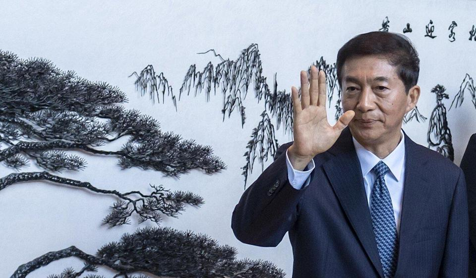 Luo Huining became Beijing's top official in Hong Kong last year. Photo: Bloomberg