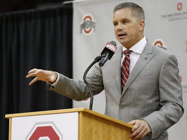 New Ohio State coach Chris Holtmann (AP)