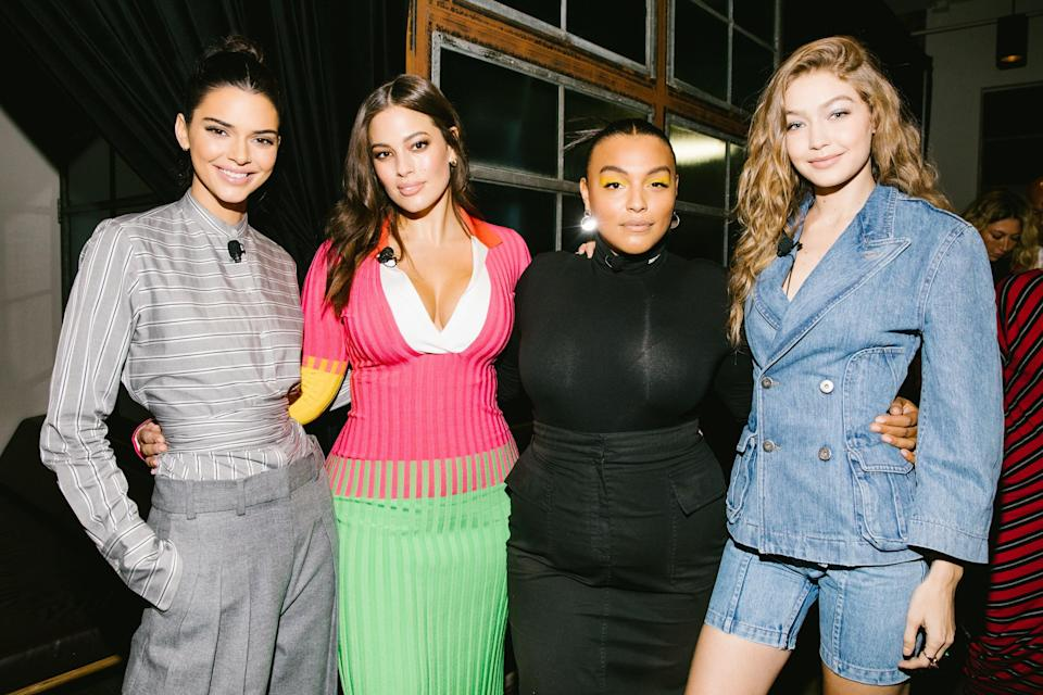 The superstars share their thoughts on social media, tabloid drama, and the changing nature of fashion.