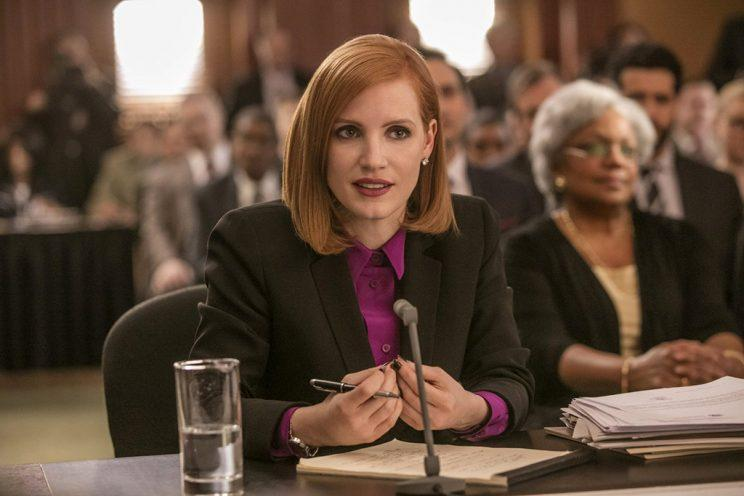Jessica Chastain in 'Miss Sloane' (Photo: EuropaCorp USA)