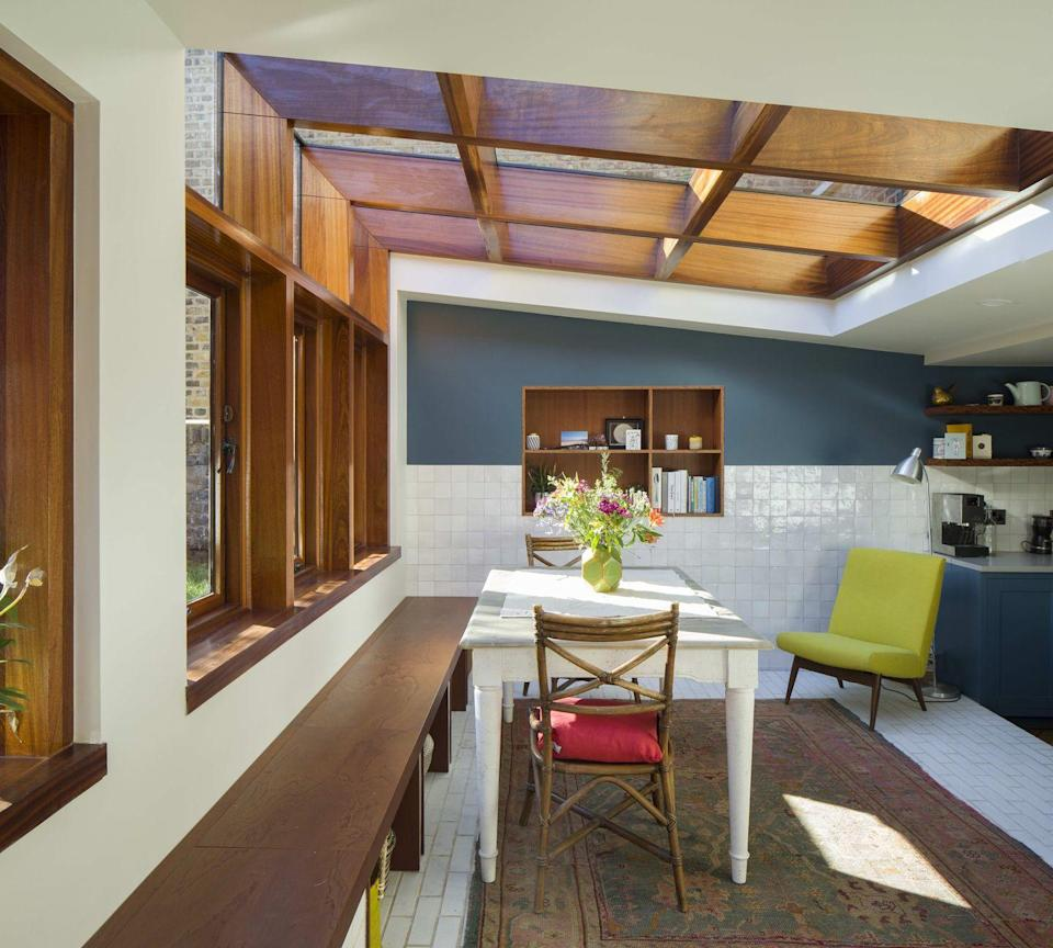"""<p>Gurmeet Sian collaborates closely with his clients to bring a spirit of individuality to his residential projects. On this Buckingham Road Victorian terrace, he has used rich colour and natural materials to bring the building back to its former glory.</p><p><strong>They say </strong>'Our approach is based on understanding the concerns of the client, why they wish for change, as opposed to what they want to change. We also feel we can make the journey of designing one's home fun!' <a href=""""http://officesian.com/"""" rel=""""nofollow noopener"""" target=""""_blank"""" data-ylk=""""slk:officesian.com"""" class=""""link rapid-noclick-resp"""">officesian.com</a></p>"""