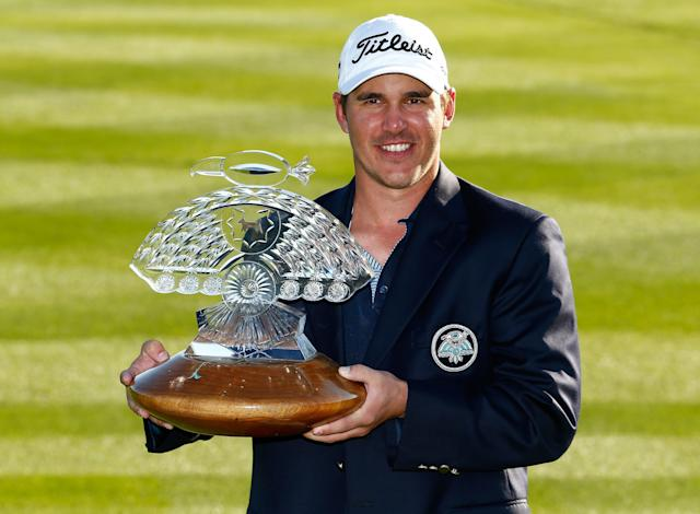 "<div class=""caption""> Koepka isn't sure the whereabouts of his Phoenix Open trophy. </div> <cite class=""credit"">Sam Greenwood/Getty Images</cite>"