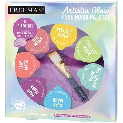 <p>Have a little fun with your face masks with this <span>Freeman Artistic Glow Face Mask Palette</span> ($10) that comes with seven different masks, a paint palette, and a brush.</p>