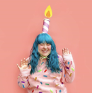 """<p>Here's a fun idea: Pretend it's your birthday. Glue strips of felt onto a sweatshirt, then fashion yourself a giant candle headband using a cardboard tube (an empty toilet paper tube works just fine!) and cardstock. </p><p><a class=""""link rapid-noclick-resp"""" href=""""https://www.instagram.com/p/B_W0DGBFnn2/"""" rel=""""nofollow noopener"""" target=""""_blank"""" data-ylk=""""slk:SEE MORE"""">SEE MORE</a></p><p><a class=""""link rapid-noclick-resp"""" href=""""https://www.amazon.com/flic-flac-inches-Assorted-Fabric-Patchwork/dp/B01GCRXBVE?tag=syn-yahoo-20&ascsubtag=%5Bartid%7C10072.g.33547559%5Bsrc%7Cyahoo-us"""" rel=""""nofollow noopener"""" target=""""_blank"""" data-ylk=""""slk:SHOP FELT"""">SHOP FELT</a></p>"""