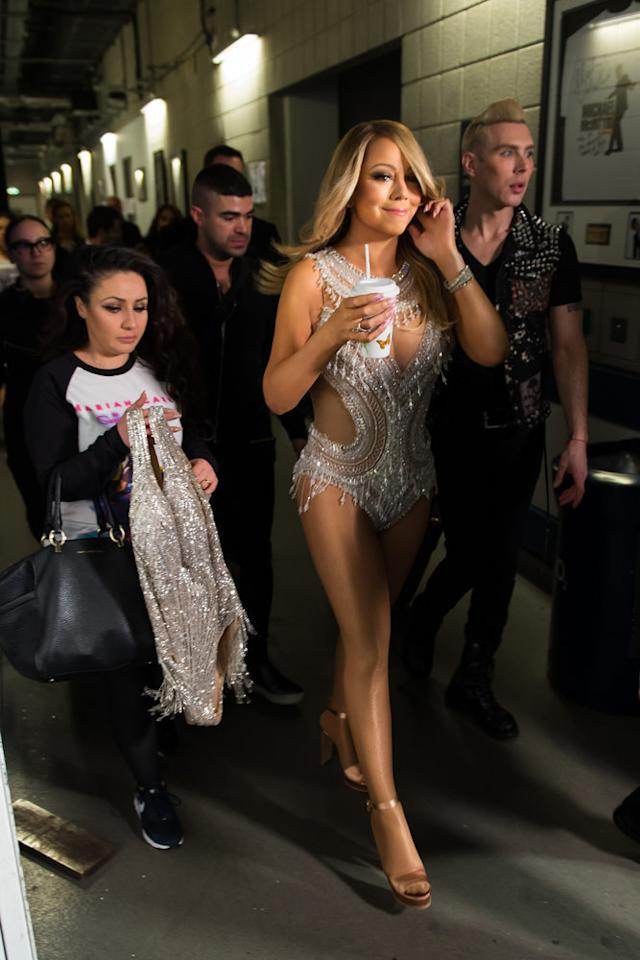 <p>Mariah Carey <br />(Credit: E! Entertainment) </p>