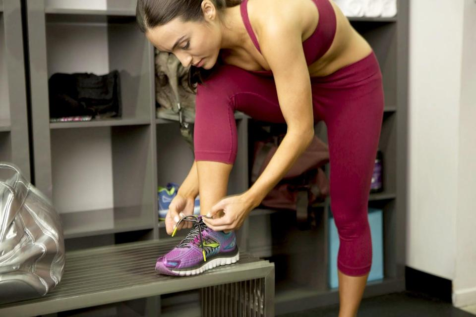 """<p>In the same way you can't wait to wear those new shoes you bought, pick up some cute fitness gear. You'll be surprised how eager you'll be to throw it on and head to the gym! It doesn't have to cost a fortune either: splurge on a single item from <a href=""""https://www.popsugar.com/fitness/Best-Lululemon-Leggings-44778728"""" class=""""link rapid-noclick-resp"""" rel=""""nofollow noopener"""" target=""""_blank"""" data-ylk=""""slk:Lululemon"""">Lululemon</a> or <a href=""""https://www.popsugar.com/fitness/Best-Sweaty-Betty-Leggings-44711902"""" class=""""link rapid-noclick-resp"""" rel=""""nofollow noopener"""" target=""""_blank"""" data-ylk=""""slk:Sweaty Betty"""">Sweaty Betty</a>, but fill in the blanks with some of our picks for cute but inexpensive gear like <a href=""""https://www.popsugar.com/fitness/best-workout-clothes-from-old-navy-47178917"""" class=""""link rapid-noclick-resp"""" rel=""""nofollow noopener"""" target=""""_blank"""" data-ylk=""""slk:from Old Navy"""">from Old Navy</a>.</p>"""