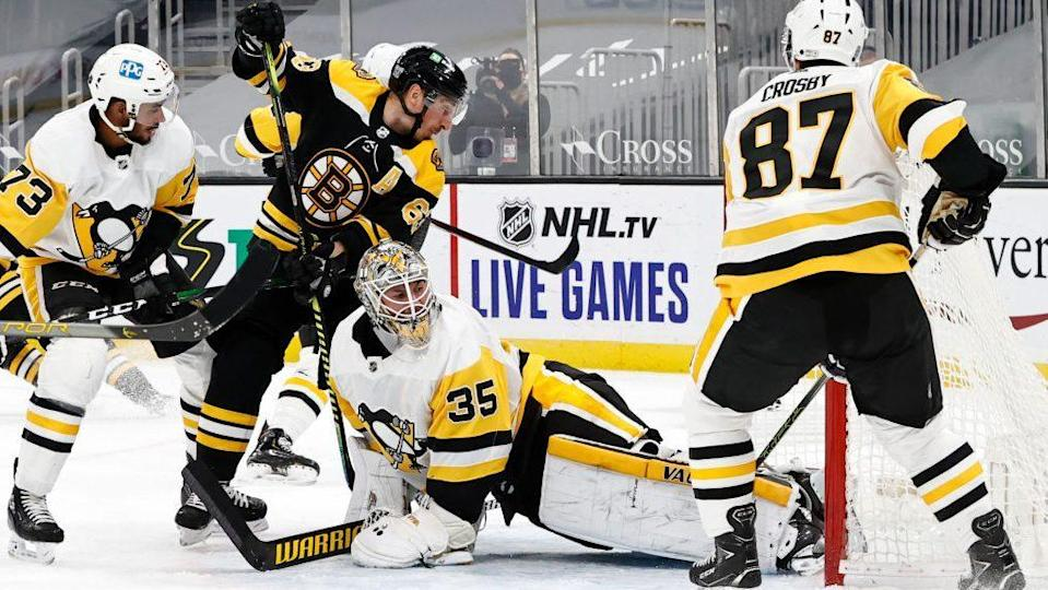 Push for the Playoffs: Bruins, Penguins battle for East Division seeding