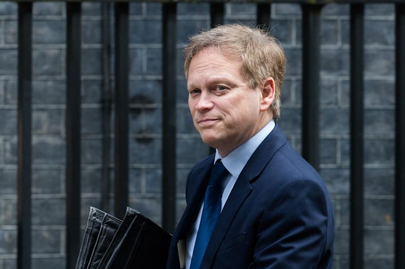 LONDON, UNITED KINGDOM - MARCH 17, 2020: Secretary of State for Transport Grant Shapps arrives in Downing Street in central London to attend a Cabinet meeting on 17 March, 2020 in London, England.- PHOTOGRAPH BY Wiktor Szymanowicz / Barcroft Studios / Future Publishing (Photo credit should read Wiktor Szymanowicz/Barcroft Media via Getty Images)