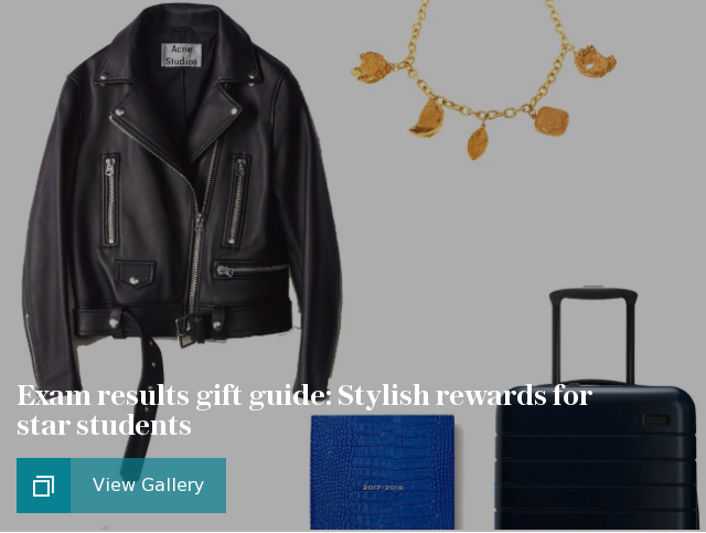 Exam results gift guide: Stylish rewards for star students