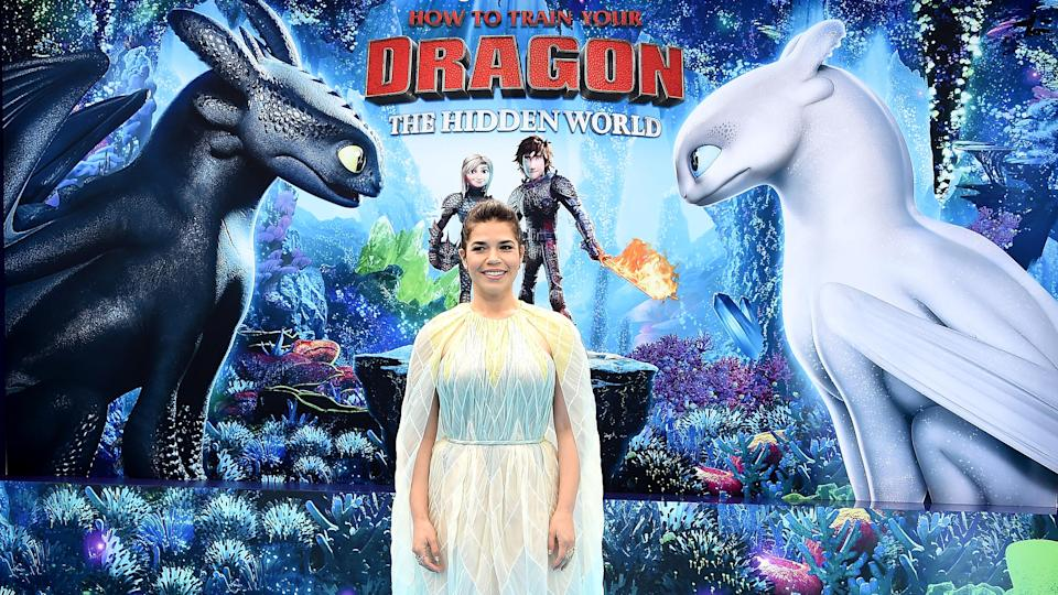 "America Ferrera at the premiere of ""How to Train Your Dragon: The Hidden World"" (Photo: Gregg DeGuire/Getty Images)"