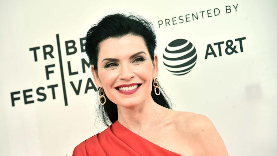 """""""The Good Wife"""" actress Julianna Margulies. (Photo by Steven Ferdman/Getty Images for Tribeca Film Festival)"""