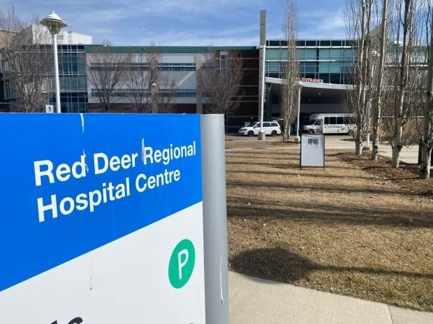 The Red Deer Regional Hospital Centre serves Red Deer and the surrounding communities.  (Heather Marcoux/CBC News - image credit)