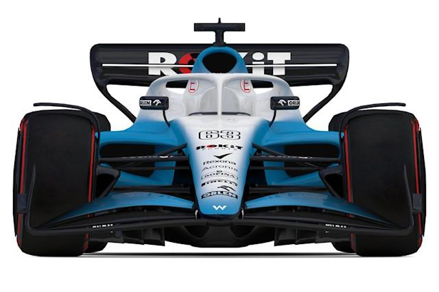"F1 2022, auto del team Williams <span class=""copyright"">Williams </span>"