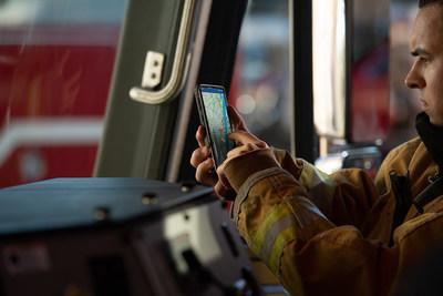 Built on the IBM Cloud, the new platform created in partnership with Samsung will now allow firefighters and other first responders to track first responders' vitals, including heart rate and physical activity, to determine if that person is in distress and automatically dispatch help.