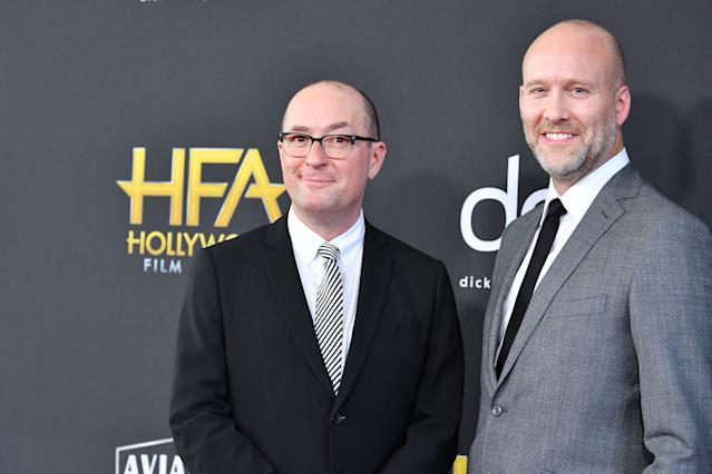 Christopher Markus and Stephen McFeely attends the 23rd Annual Hollywood Film Awards. (Amy Sussman/FilmMagic)
